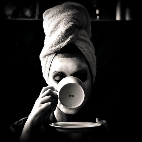 Self Portrait With Tea | by Flооd