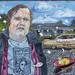 Scott Wannberg RIP (sold) by Louie Metz