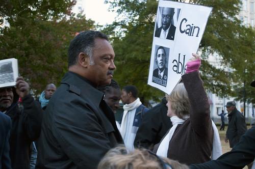 Jesse Jackson when Occupy Atlanta re-occupied on Nov.5th   by Nexus of Change