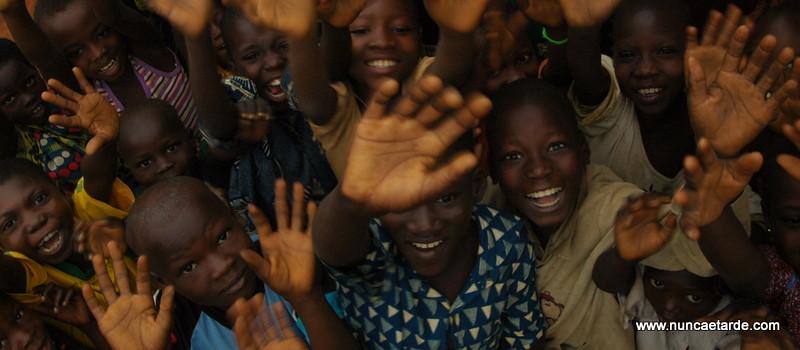 Crianças em Aldeia no Benin