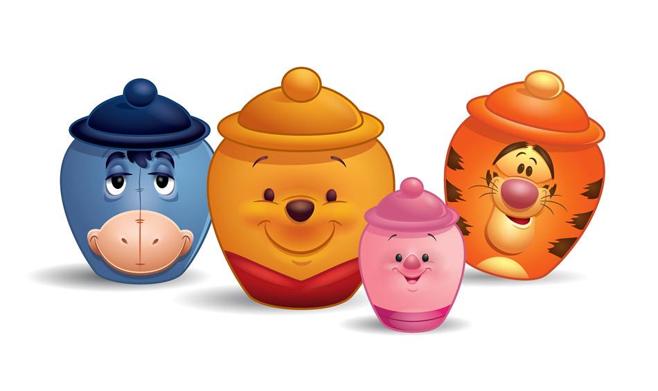 e198948dc64e ... Winnie The Pooh Hunny Pots