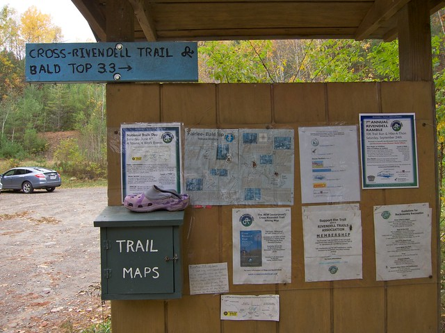 0:00:00 (0%): sign vermont hiking fairlee crossrivendelltrail baldtopmountain