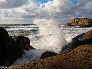 Rough day by the coast of Jæren | by Ggranvik
