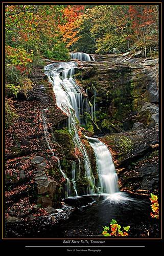 nature river landscape tn tennessee waterfalls streams cherokeenationalforest