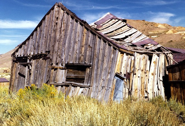 Bodie Ghost Town, CA, 1999