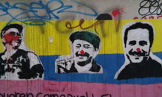 Raul Reyes, Manuel Marulanda and Ivan Rios - Farc Leaders | by bixentro