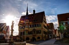 Bietigheim-Bissingen Germany 'town hall' HDR 'Lens Nikon 16-85mm f/3.5-5.6G ED VR DX AF-S Nikkor'