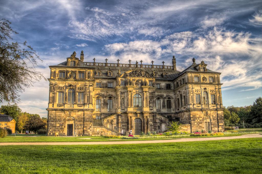 Palais Volkspark Großer Garten Freehand Hdr 3px Magnetismus Flickr