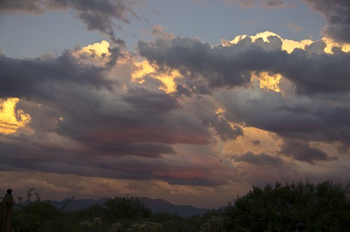 sunset arizona sky usa clouds photography az nopeople scenics colorimage beautyinnature santaritamountains
