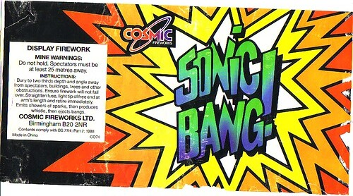 Sonic Bang (large mine) early 90's