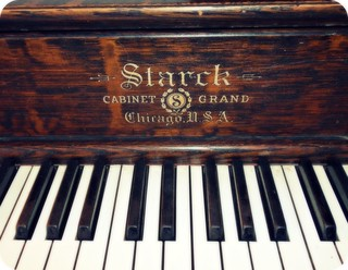 Antique Cabinet Grand Piano Keys Approx 100 Years Old