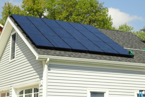 North Tonawanda, NY residential solar installation | by Solar Liberty