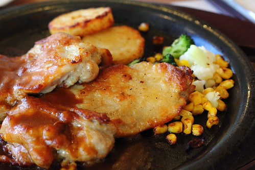 Roasted Chicken with Demiglace Sauce (Matsudo, Chiba, Japan) | by t-mizo