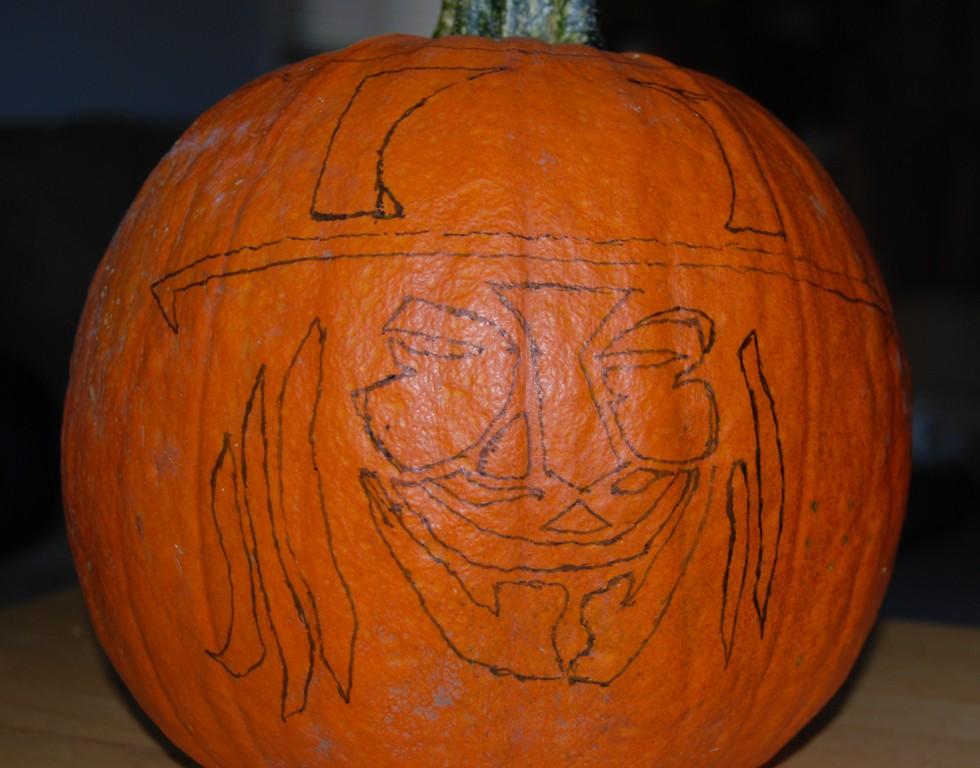 template v for vendetta pumpkin  V for Vendetta pumpkin sketch pattern | Arnold Chao | Flickr