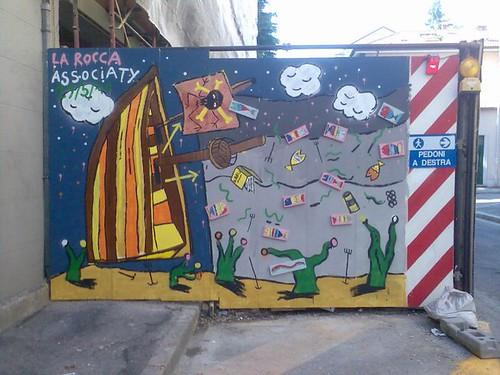 "Marco La Rocca // ""Piscatus mirus"" | by streetartpiù"