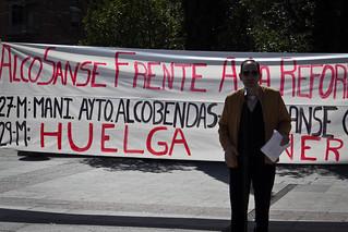 Asamblea Informativa sobre la Reforma Laboral en Alcobendas