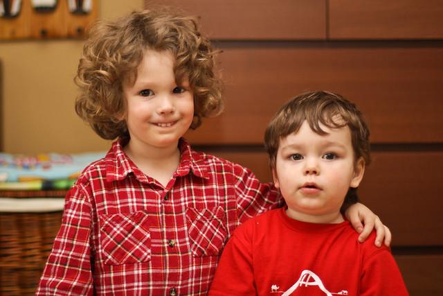 Liam et Emmanuel
