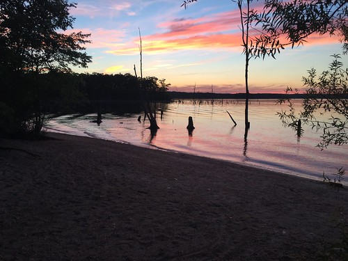 sunset water reservoir