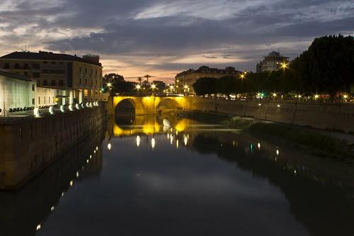 sunset españa atardecer spain europa europe ngc cities murcia ciudades oldbridge puenteviejo
