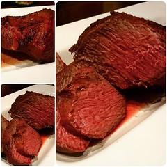 Tafelspitz von der Salzplanke  #BBQ #foodstagram #foodbloger #Tafelspitz #salzplanke #brisket #tri-tip #saltplank