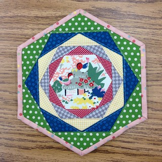 Trivet - Christmas sewing.