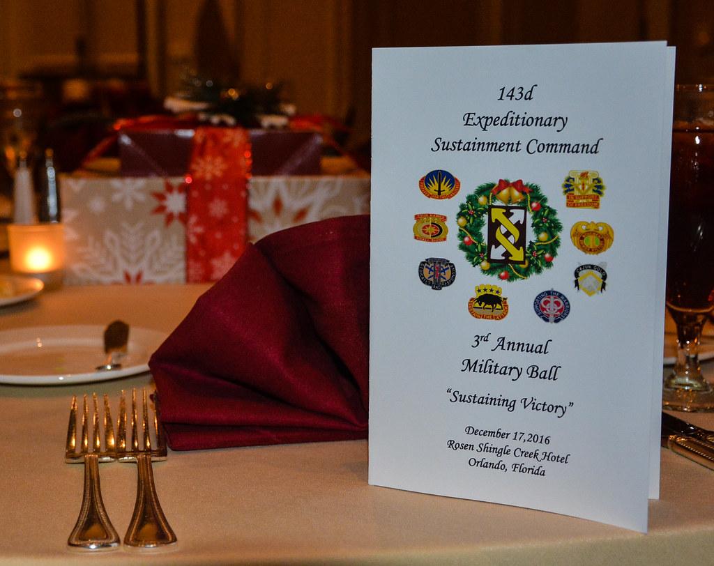 Enchanted Evening 143d Esc Hosts Third Annual Lt Gen Ja