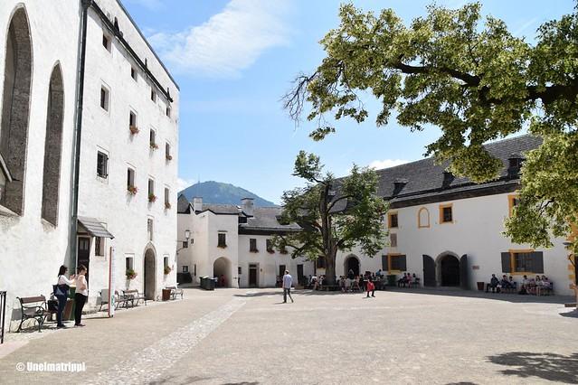 Hohensalzburgin linnoituksen sisäpiha