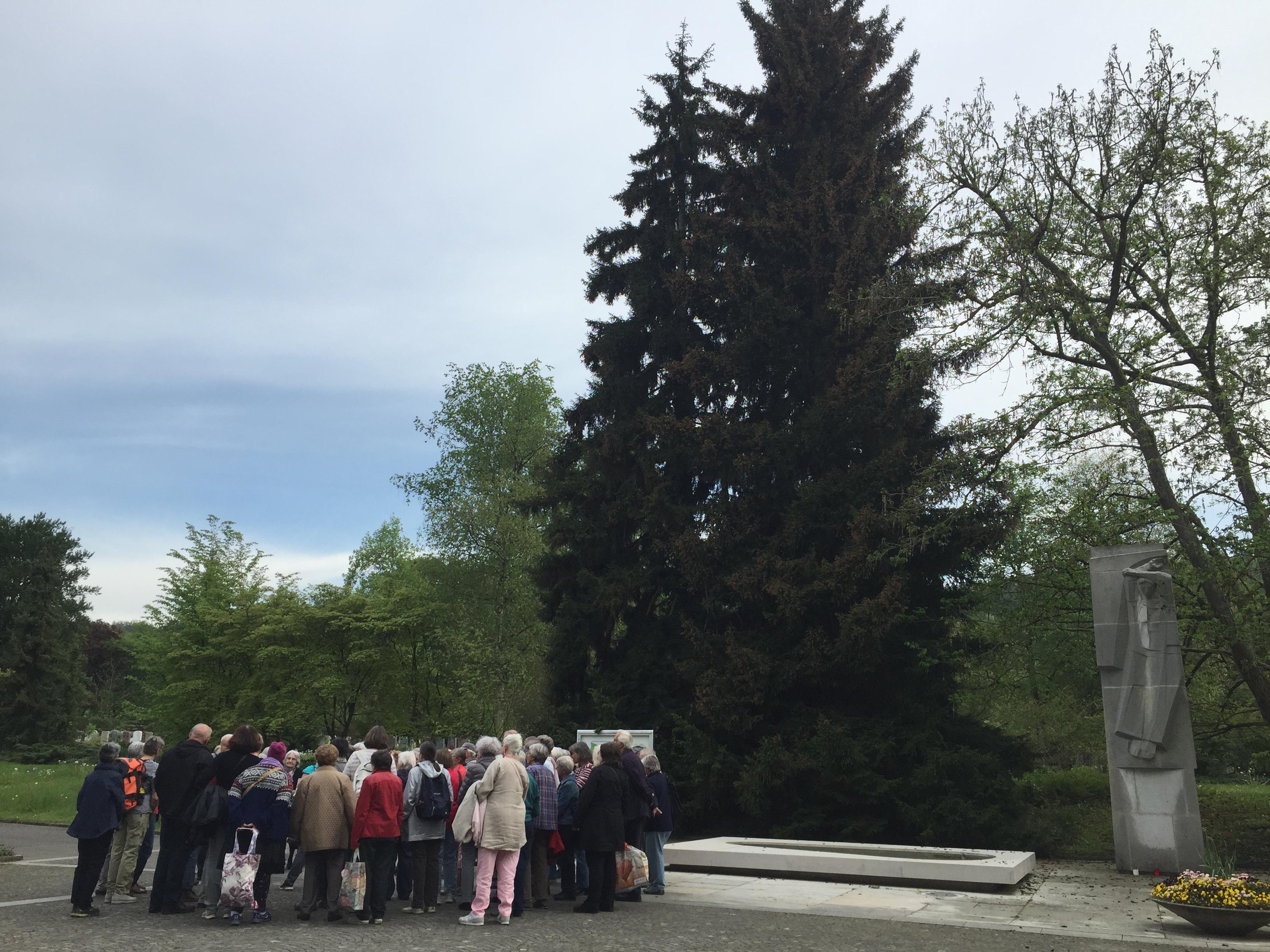 2016_Eröffnung Botanischer Weg im Friedhof Schwamendingen