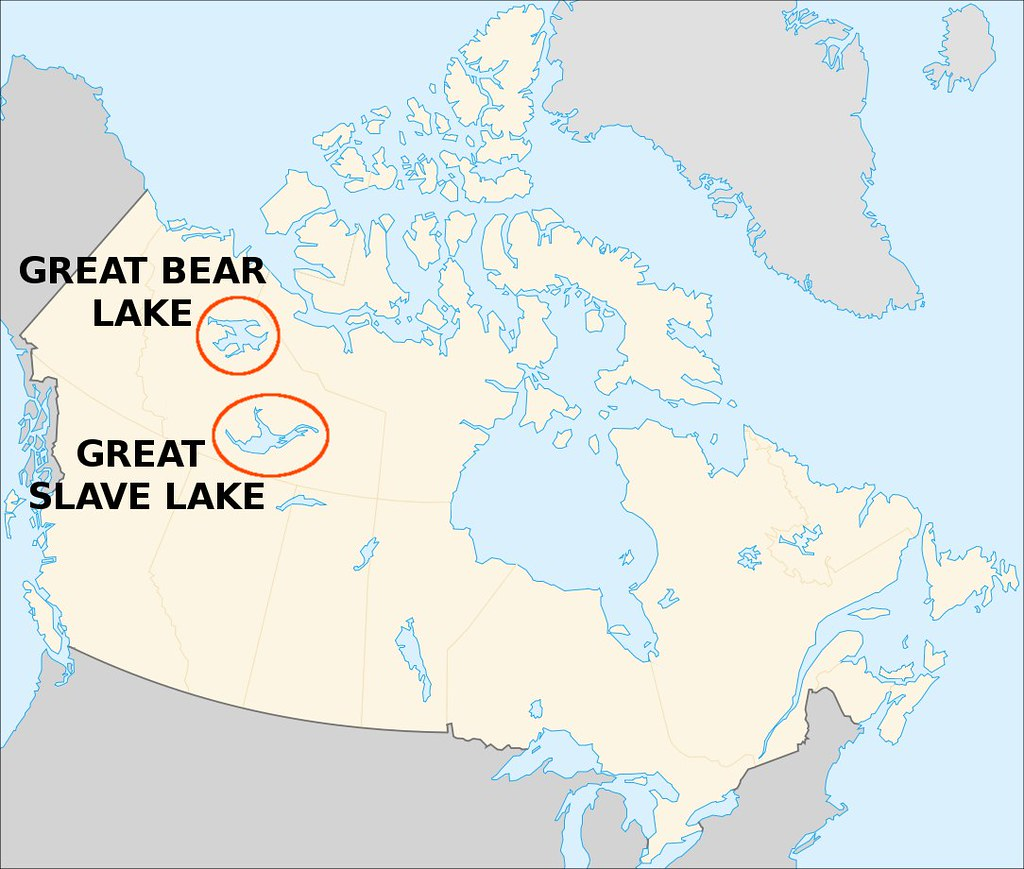great slave lake on map Canada Great Bear And Great Slave Lake Jeopardy Flickr great slave lake on map