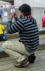 Striped Photographer
