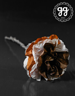 autumn paper flower | by il gatto goloso