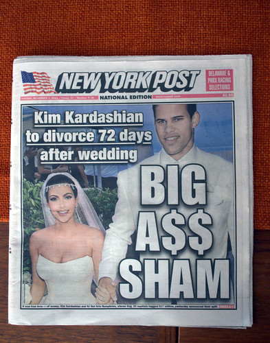 Cover Story:  New York Post, 11.01.11 | by JoeInSouthernCA