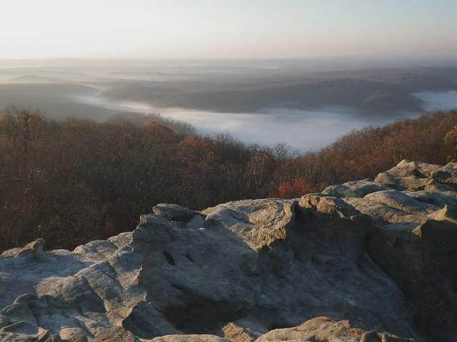 Fog in Little Cove timelapse, Black Mountain, Cumberland Co, TN