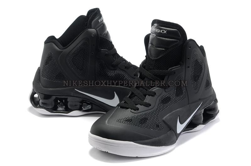 check out f15ce a12f7 ... Nike Air Shox Hyperballer black white (5)   by RunningSneakers