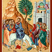 Entry into Jerusalem Icon from Monastery Icons