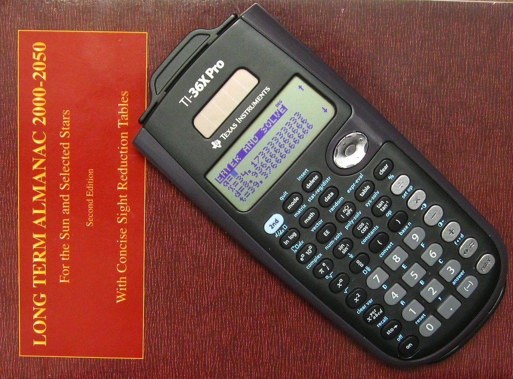 TI-36X Pro | An excellent value calculator for celestial nav… | Flickr