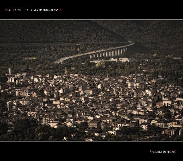 Pratola Peligna - Vista da Roccacasale