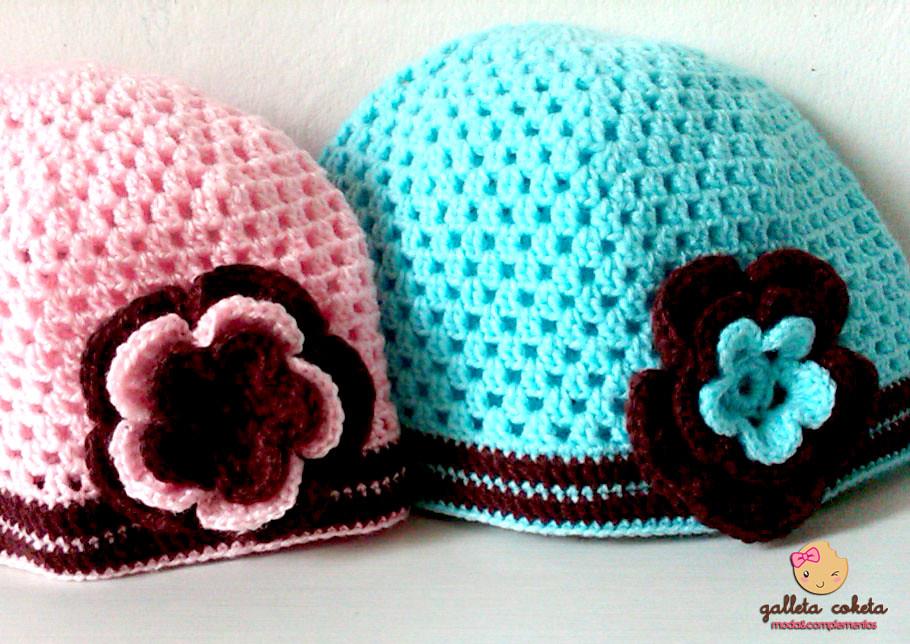 Gorros Tejidos A Crochet Lindos Elaborados En Lana Antial Flickr
