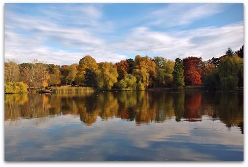 double autumn view