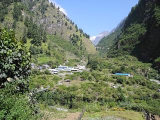 De Chamje (1350m) à Timang (2200m)   by girolame