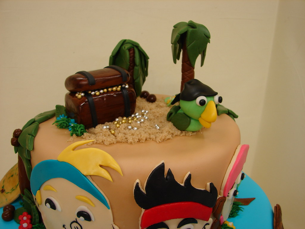 Admirable Jake And The Neverland Pirates Birthday Cake Jake And The Flickr Funny Birthday Cards Online Inifodamsfinfo