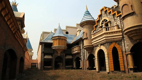 Wonderland (Abandoned Theme Park), Beijing China
