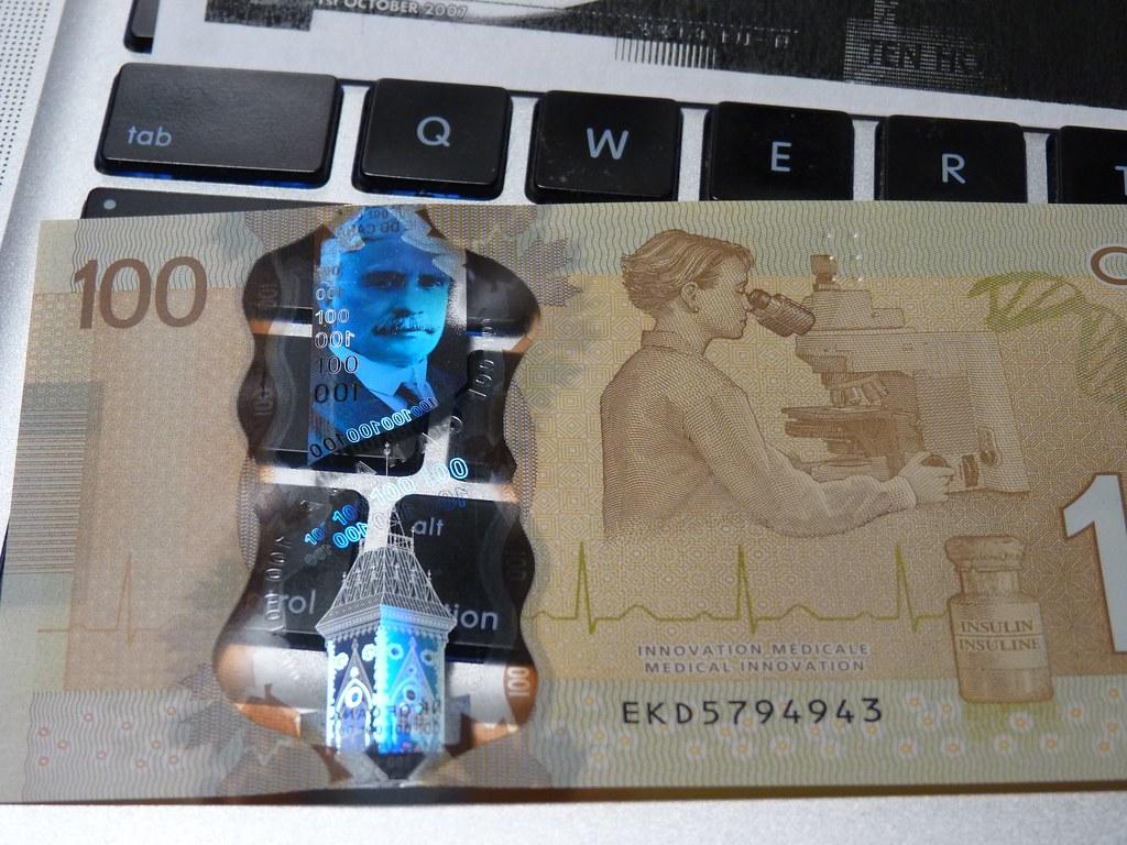 2011 Canada New Polymer $100 - back - pix 13