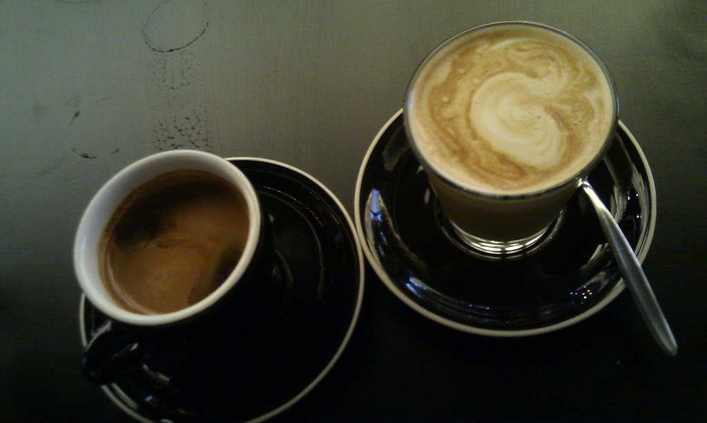 Long Black Coffee AUD3.50, Decaf Soy Caffe Latte AUD4 - Coffee Hit, Springvale Homemaker Centre