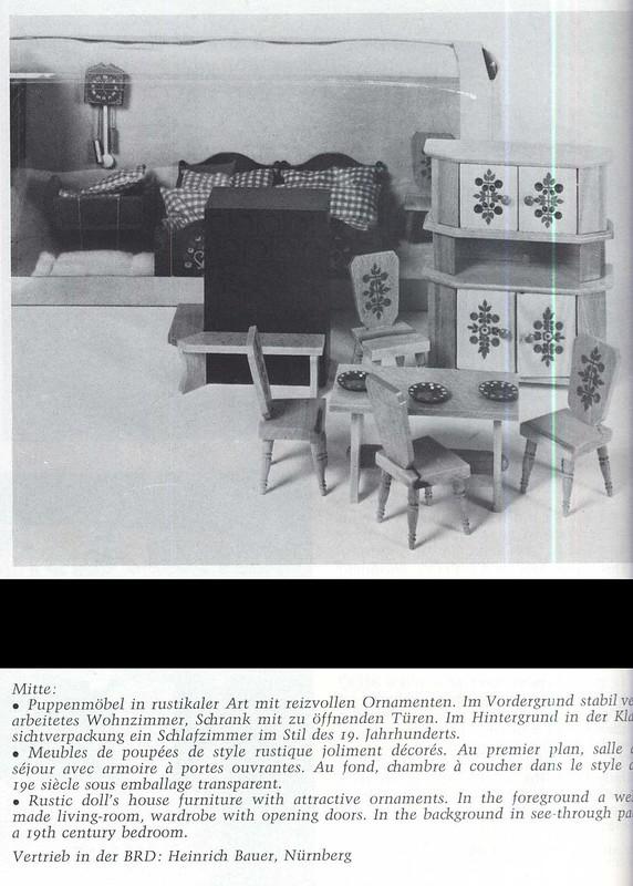 1971 VERO rustikale Möbel