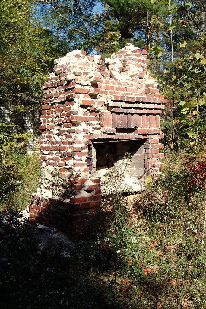 Main Fireplace In The Wonderland Hotel Ghost Town Of Elk Flickr