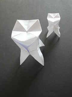 Origami Chattering Teeth - YouTube | 320x240