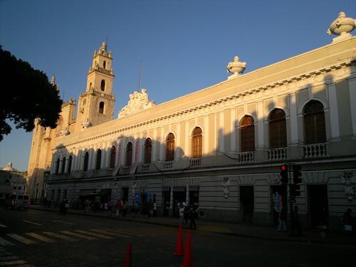 Plaza Grande (Principal) de la ciudad de Mérida