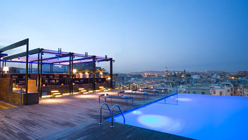 Grand Hotel Central, Rooftop Pool | by DESIGN HOTELS™