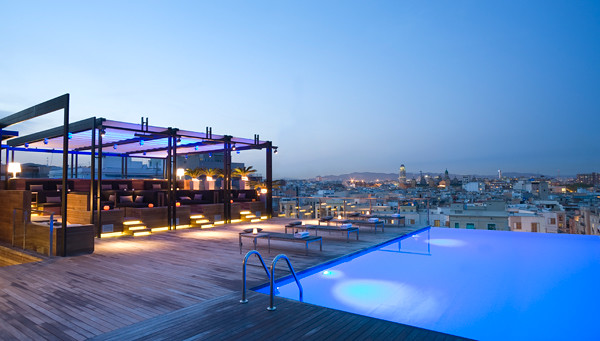 Grand Hotel Central, Rooftop Pool